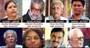 भारतीय लेखक तथा सामाजिक अभियन्ता गिरफ्तार